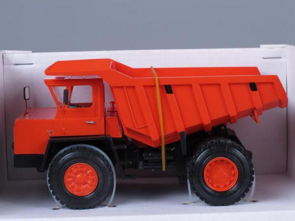 БелАЗ-540 (MD Models) [1965г., Красный, 1:43]