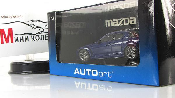 MAZDA SPEED RX-8 (Autoart) [2003г., Синий, 1:43]