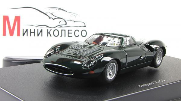 JAGUAR XJ13 (Autoart) [1961г., Зеленый, 1:43]