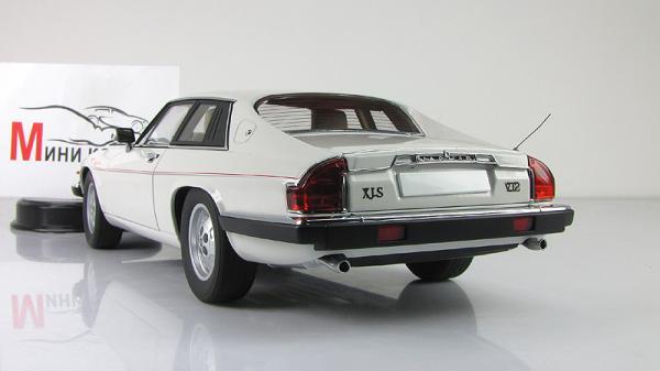 JAGUAR XJ-S COUPE V12 (Autoart) [1986г., Белый, 1:18]