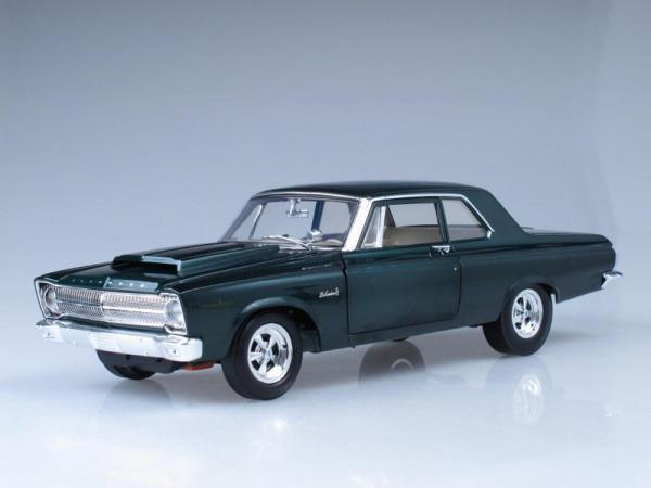 Plymouth A990 Belvedere (Highway 61) [1965г., Зеленый металлик, 1:18]