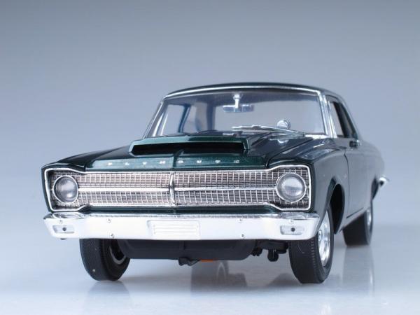Plymouth A990 Belvedere (Highway 61) [1965г., Зеленый металлик, 1:18]