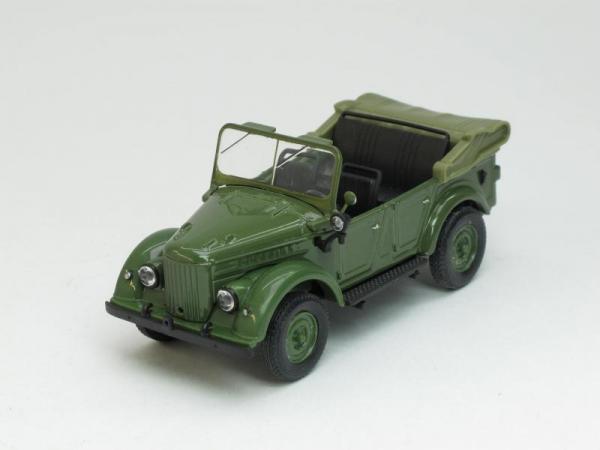 ГАЗ-69А открытый (Наш Автопром) [1952г., Хаки, 1:43]