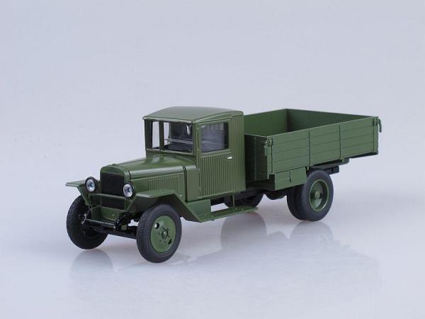 ЗИС-5В бортовой (Наш Автопром) [1942г., Светло-зелёный, 1:43]