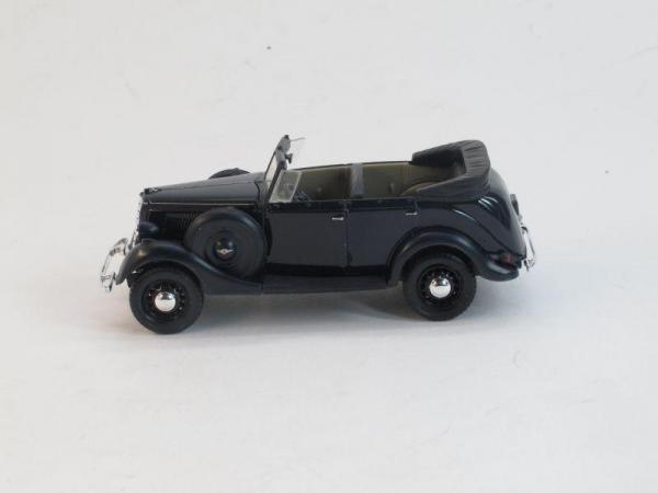 ГАЗ-61-40 открытый (Наш Автопром) [1940г., Темно-синий, 1:43]