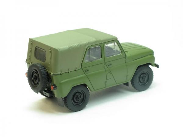 УАЗ-469Б (Наш Автопром) [1972г., Оливково-зелёный, 1:43]