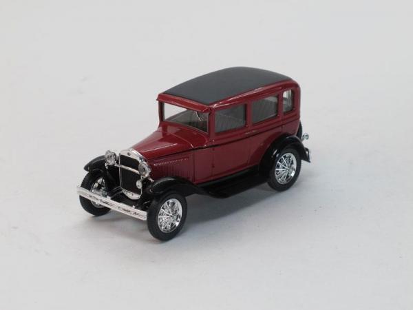 ГАЗ-6 (Наш Автопром) [1934г., Красный, 1:43]