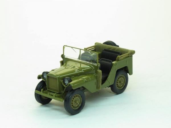 ГАЗ-64 (Наш Автопром) [1941г., Хаки, 1:43]