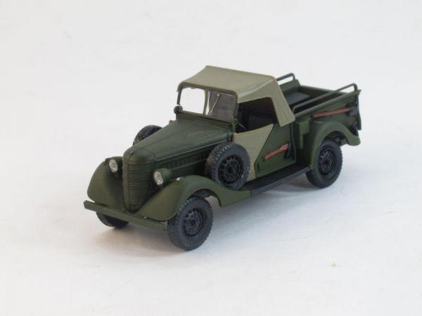ГАЗ-61-417 с тентом (Наш Автопром) [1941г., Хаки, 1:43]