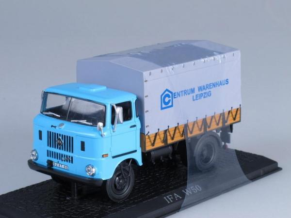 IFA W50L Centrum Leipzig (WhiteBox) [1965г., Голубой, серый, 1:43]