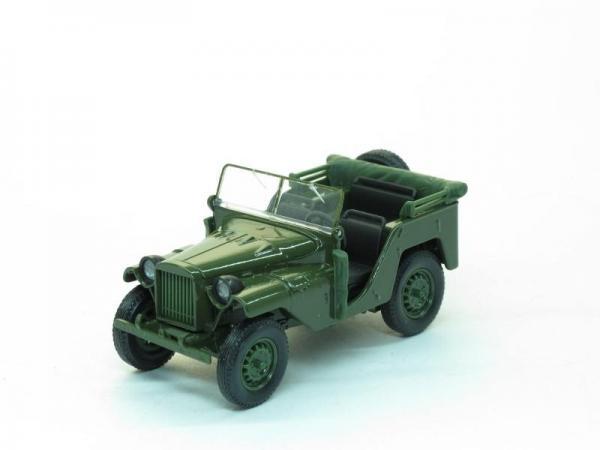 ГАЗ-64 (Наш Автопром) [1941г., Зеленый, 1:43]