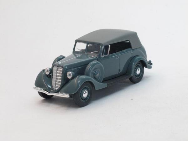 ГАЗ-М1 фаэтон с тентом (Наш Автопром) [1936г., Серый, 1:43]