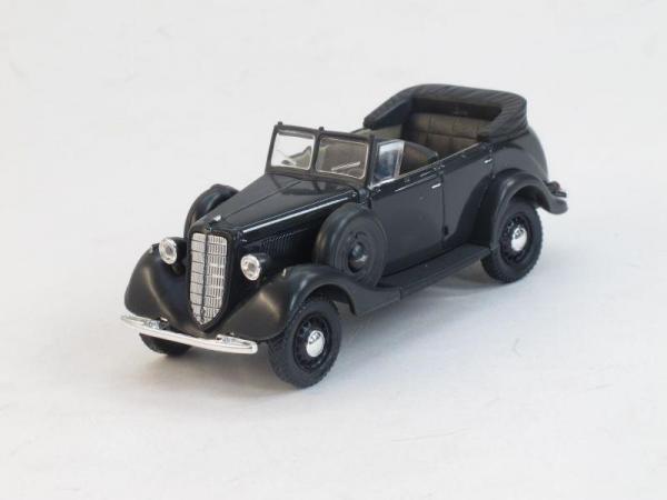 ГАЗ-61-40 открытый (Наш Автопром) [1940г., Темно-серый, 1:43]