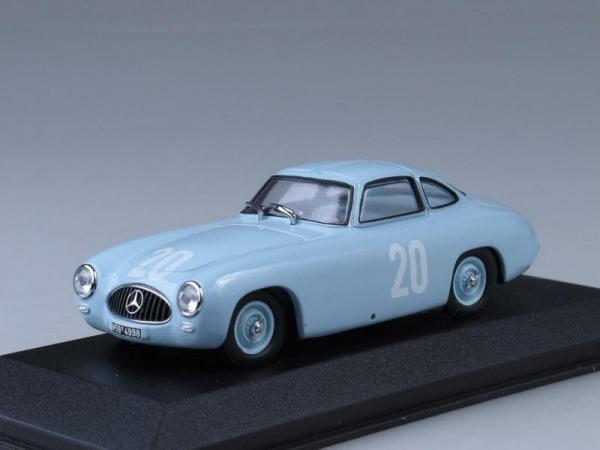 Mercedes 300 SL 2nd GP Bern (Minichamps) [1952г., Светло-голубой, 1:43]