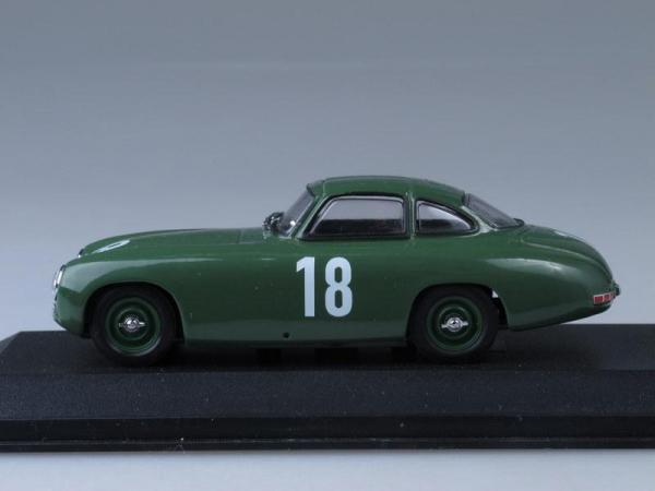 Mercedes 300 SL 2nd GP Bern (Minichamps) [1952г., Зеленый, 1:43]