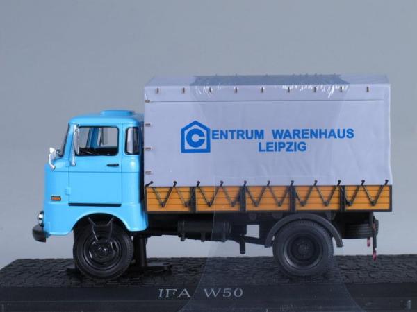 IFA W50L Centrum Leipzig (WhiteBox) [1965г., Голубой, серый, 1:43]