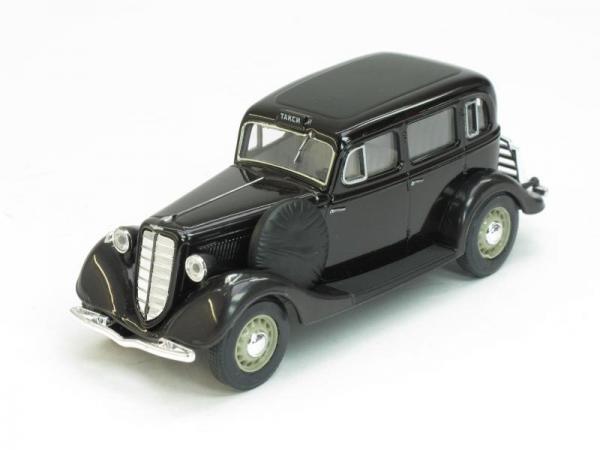 ГАЗ-М1 такси (Наш Автопром) [1936г., Черный, 1:43]