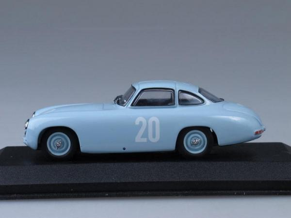 Mercedes 300 SL 2nd GP Bern (Minichamps) [1952г., Светло-голубой, 1:43]