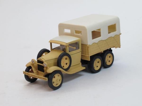 ГАЗ-ААА Каракумский пробег (Наш Автопром) [1936г., Песочный, 1:43]