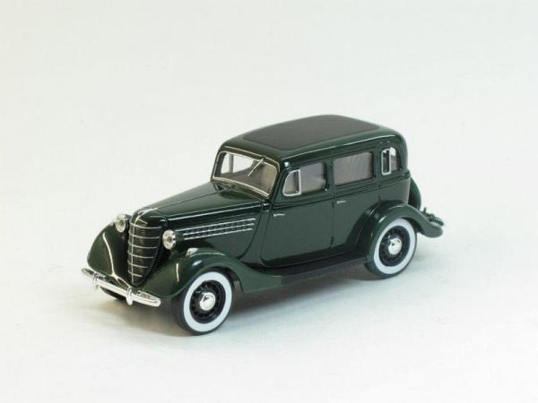 ГАЗ 11-73 (Наш Автопром) [1940г., Зеленый, 1:43]