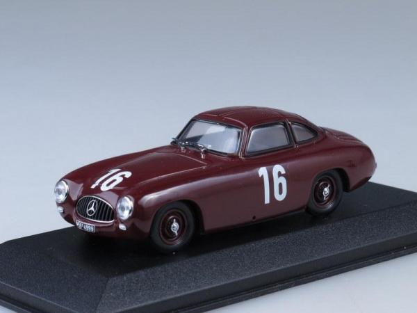 Mercedes 300 SL 2nd GP Bern (Minichamps) [1952г., Вишневый, 1:43]