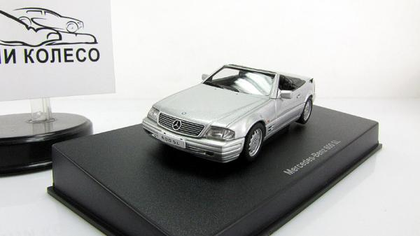 MERCEDES-BENZ 600 SL (Autoart) [1997г., Серебристый, 1:43]