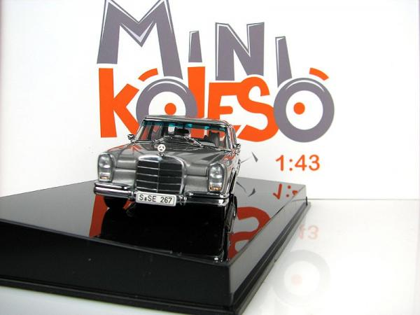 MERCEDES-BENZ 600 SWB (Autoart) [1963г., Серебристый, 1:43]
