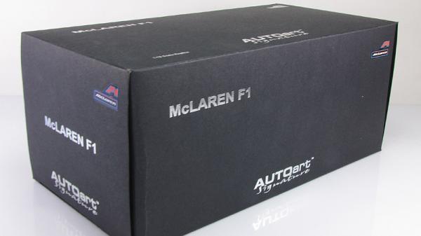 MCLAREN F1 (Autoart) [1994г., Черный, 1:18]
