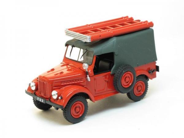 ПМГ-20 Пожарный (DeAgostini (Автомобиль на службе)) [1951г., Красный, 1:43]