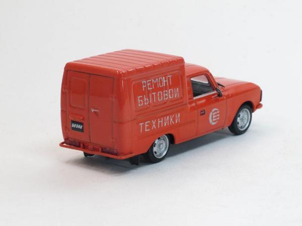 ИЖ-2715 Служба быта (DeAgostini (Автомобиль на службе)) [1972г., Оранжевый, 1:43]