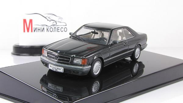 MERCEDES-BENZ 500 SEC (W126) COUPE (Autoart) [1981г., Черный, 1:43]