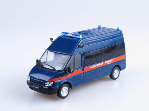 Ford Transit, Следственный комитет (DeAgostini (Автомобиль на службе)) [2000г., Синий с красной полосой, 1:43]