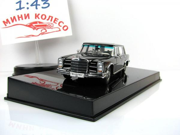 MERCEDES-BENZ 600 SWB (Autoart) [1963г., Черный, 1:43]