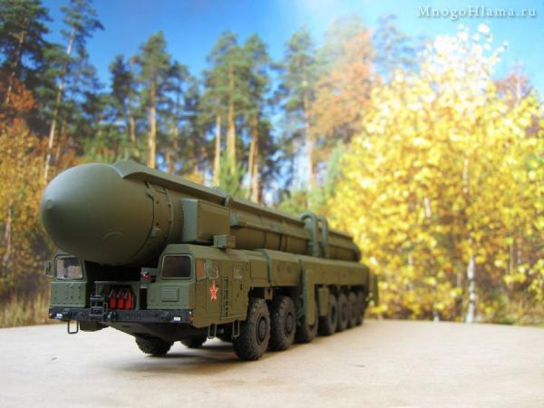 Ракетный комплекс Тополь SS-25 Sickle (Ручная работа) [Хакки, 1:72]