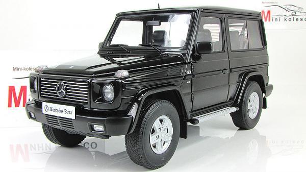 MERCEDES-BENZ G500 (Autoart) [1998г., Черный, 1:18]
