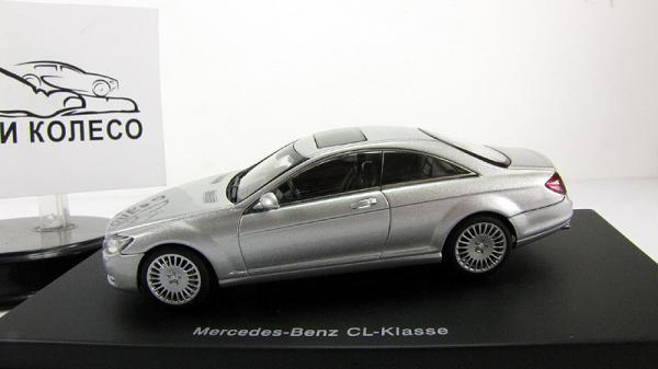 MERCEDES-BENZ CL-KLASSE COUPE (Autoart) [2006г., Серебристый, 1:43]