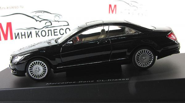 MERCEDES-BENZ CL-KLASSE COUPE (Autoart) [2006г., Черный, 1:43]
