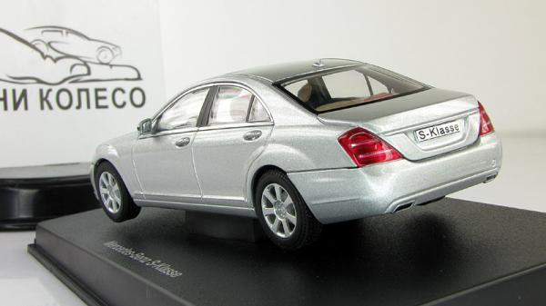 Mercedes-Benz S-klassе (Autoart) [2009г., Серебристый, 1:43]
