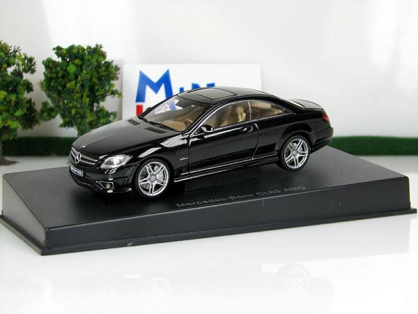 MERCEDES-BENZ CL63 AMG (Autoart) [2003г., Черный, 1:43]