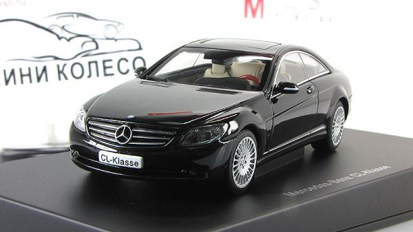 MERCEDES-BENZ CL-KLASSE COUPE (Autoart) [2006г., Черный, 1:43]