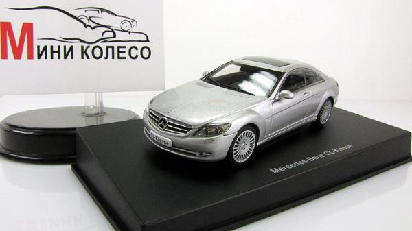 MERCEDES-BENZ CL-KLASSE COUPE (Autoart) [2006г., Серебристый, 1:43]