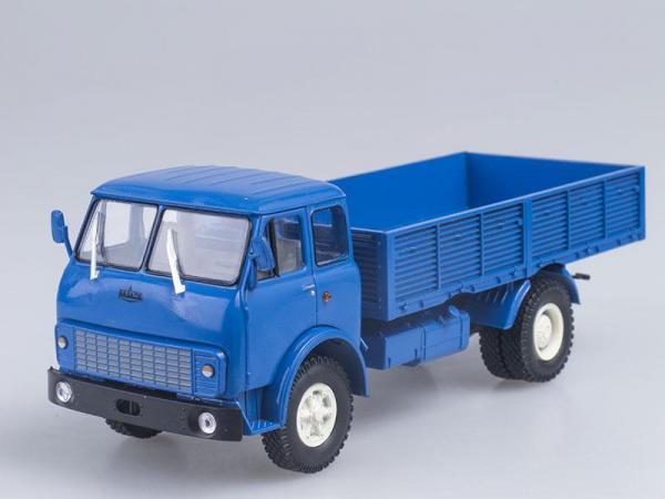МАЗ-5335 бортовой (Наш Автопром) [1977г., Синий, 1:43]