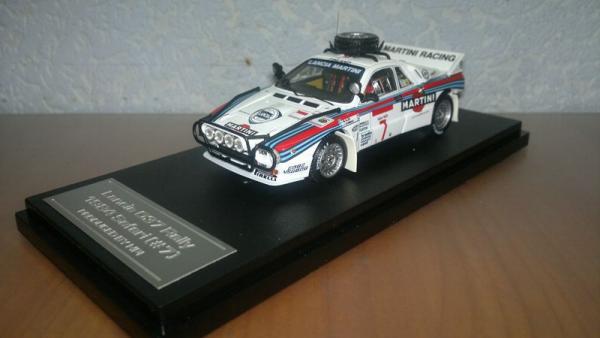 Lancia 037 Rally 1984 Safari #7 M.Alen & I.Kivimaki (HPI) [1980г., Белый, 1:43]