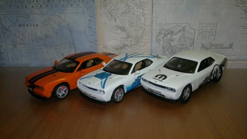 Суперкары №60 Dodge Challenger SRT-8