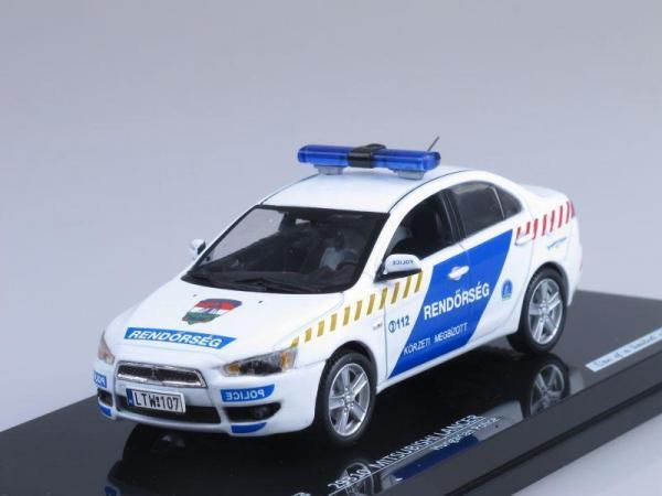 Mitsubishi Lancer, Полиция Венгрии (Vitesse) [2007г., Белый с синим, 1:43]