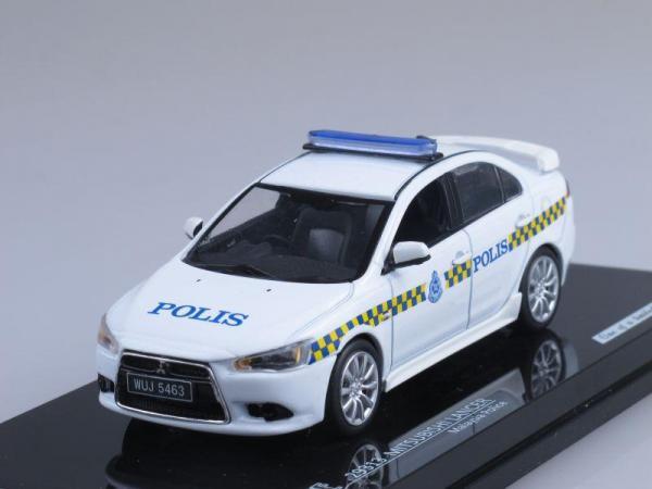 Mitsubishi Lancer, Полиция Малайзии (Vitesse) [2007г., Белый, 1:43]