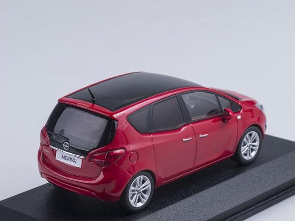 Opel Meriva (Minichamps) [2010г., Красный, 1:43]