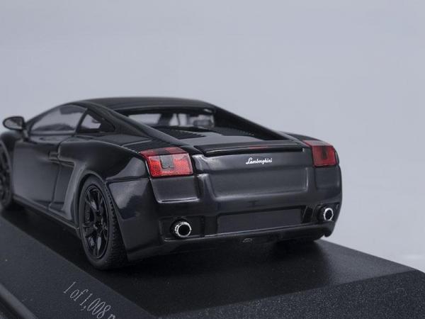 Lamborghini Gallardo (Minichamps) [2006г., Черный, 1:43]