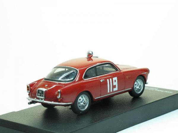 Alfa Romeo Giulitta Sprint Veloce - #119 (Alfa Romeo Sport Collection) [1959г., Красный, 1:43]