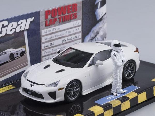 Lexus LFA - Top Gear + Stig (Minichamps) [2010г., Белый, 1:43]